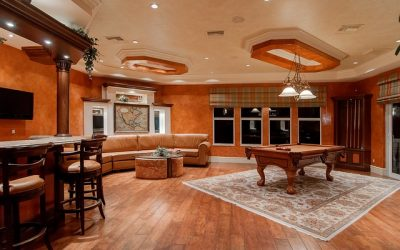 Cool Summer Basement Remodel